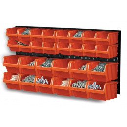 organizér závesný na náradie s 28 boxy ORDERLINE NTBNP1 / držiak
