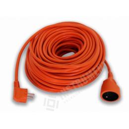 kábel predlžovací 20m oranžový max. 3680W detska poistka