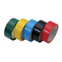 páska PVC izolačná 19mmx5m hr.0,13mm 5ks sada
