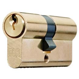 vložka cylindrická FAB 50D/30+45 3 kľúčová