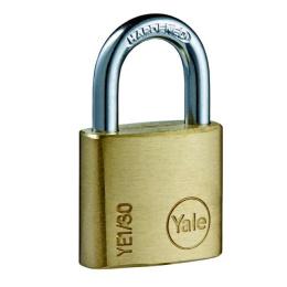 zámok visiaci Yale YE1/20/111/2 3 kľúče, sada 2 zámky na jeden kľúč