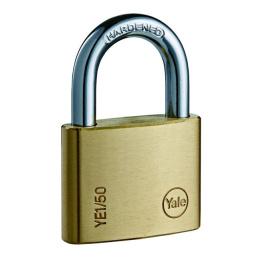 zámok visiaci Yale YE1/40/122/2 S. 3 kľúče, sada 2 zámky na jeden kľúč