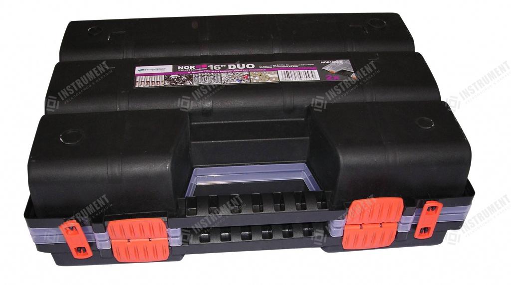 4081f3535c587 box organizér NOR16DUO 130x290x390mm na náradie