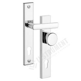 kľučka + guľa 802 / 72mm chróm-nerez bezpečnostné kovanie ROSTEX