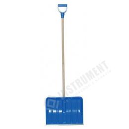 """odhrňovač snehu 41x32,5 cm modrý """" Sněžka """""""