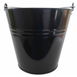 vedro 7l lakované čierne