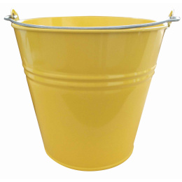 vedro 10l lakované žlté