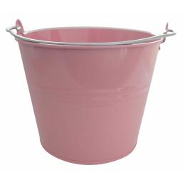 vedro 7l lakované ružové