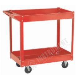 vozík dielenský, 2 police, nosnosť 100 kg