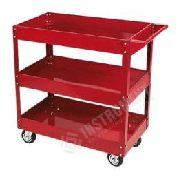 vozík dielenský, 3 police, nosnosť 100 kg