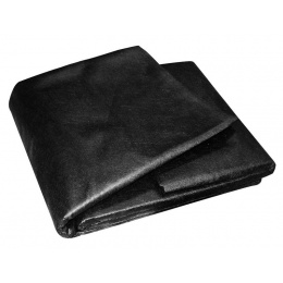 textília netkaná 0,8x50m čierna 50g/m2