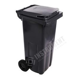 popolnica 120l plastová čierna / nádoba na odpad