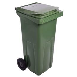 popolnica 120l plastová zelená / nádoba na odpad