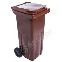 popolnica 120l plastová hnedá / nádoba na odpad