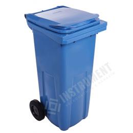 popolnica 120l plastová modrá / nádoba na odpad