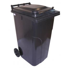 popolnica 240l plastová čierna / nádoba na odpad