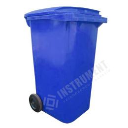 popolnica 240l plastová modrá / nádoba na odpad