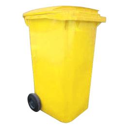popolnica 240l plastová žltá / nádoba na odpad