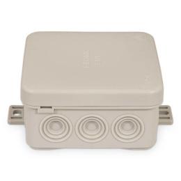 krabica rozbočovacia E 125, IP 54, 75 x 75 x 40 mm