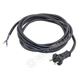 kábel napájací s vidlicou FSG 2x1,5mm 5,0m / flexo šnúra