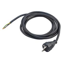 kábel napájací s vidlicou FSG 3x1,0mm 1,5m / flexo šnúra