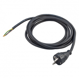 kábel napájací s vidlicou FSG 3x1,0mm 5,0m / flexo šnúra
