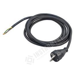 kábel napájací s vidlicou FSG 3x1,5mm 5,0m / flexo šnúra