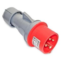 vidlica priemyselná 400 V, 16 A, 4 P polohová IP44 13300 IVN1643