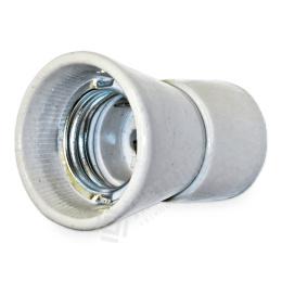 objímka porcelánová, E27, 250 V, 4 A, P-1 D M10