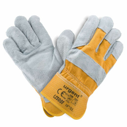 rukavice pracovné kožené zosilené