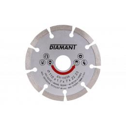 kotúč diamantový 110mm DIAMANT segmentový