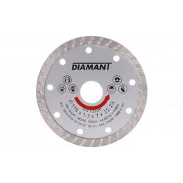 kotúč diamantový 110mm DIAMANT TURBO