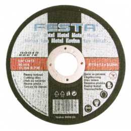 kotúč rezný na kov 150x1,2x22,2