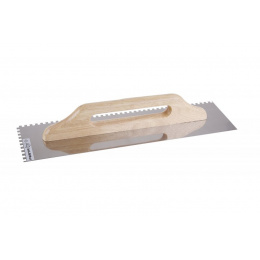 hladítko zubové 500x130 e6 nerezové FESTA