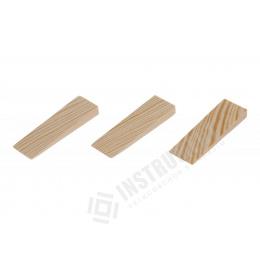klínky montážne WOODY 80x25x10-3mm,20ks drevené