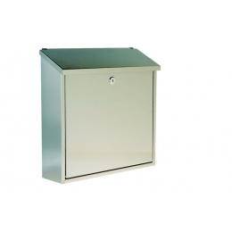 schránka poštová nerezová 36x36x10cm