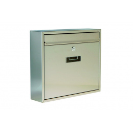 schránka poštová nerezová 31x36x9cm
