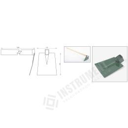 motyka plochá - šírka 125mm s násadou 1200mm
