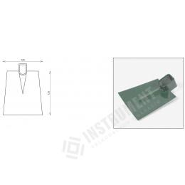 motyka plochá - šírka 125mm bez násady