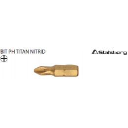 bit PH 3 25mm TiN S2, 10ks