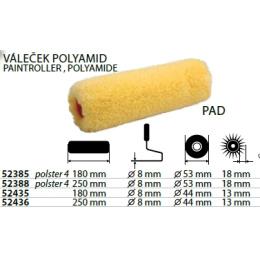 valček maliarsky polyamid 250mmx53x18