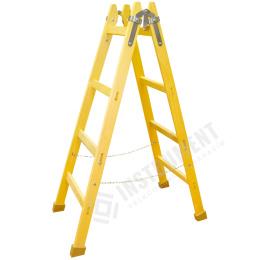 rebrík drevený maliarsky 4 priečkový 144cm