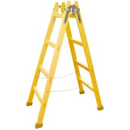 rebrík drevený maliarsky 7 priečkový 240cm