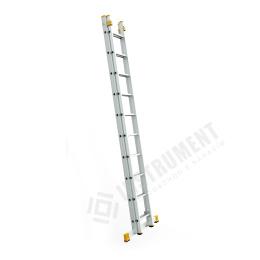 rebrík dvoj.univ.2x10-2,99/4,96m Alve FORTE 8510