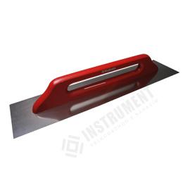hladítko nerez 130x380mm hladké, drevená rúčka 2537
