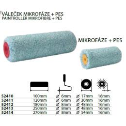 valček maliarsky mikrofáza + PES 180mm