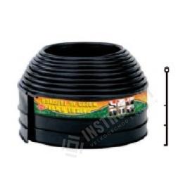 okraj na trávnatu plochu Econo 3000 BKNS čierný 6m / lem trávnikovy