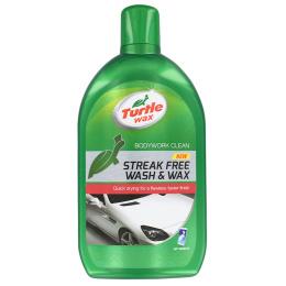 šampón s voskom TW Green Line Streak Free Wash & Wax 1000ml