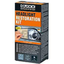 súprava na obnovu svetlometov Quixx Headlight Restoration Kit 50+30g
