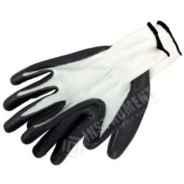 rukavice pracovné NYLON-NITRIL veľ.9